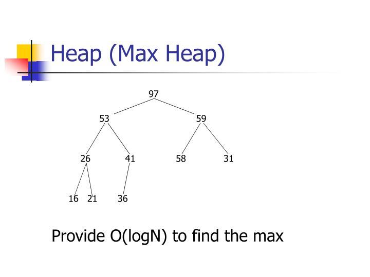 Heap (Max Heap)