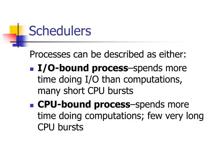 Schedulers