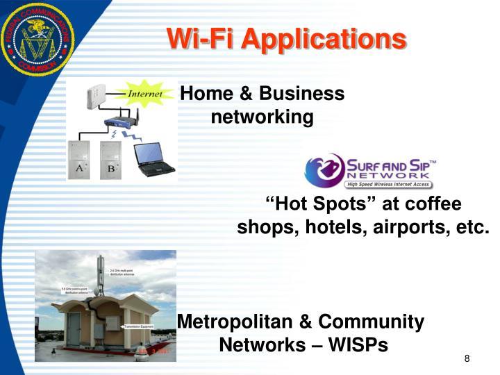 Wi-Fi Applications