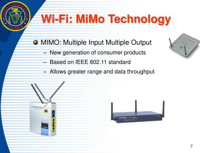 Wi-Fi: MiMo Technology