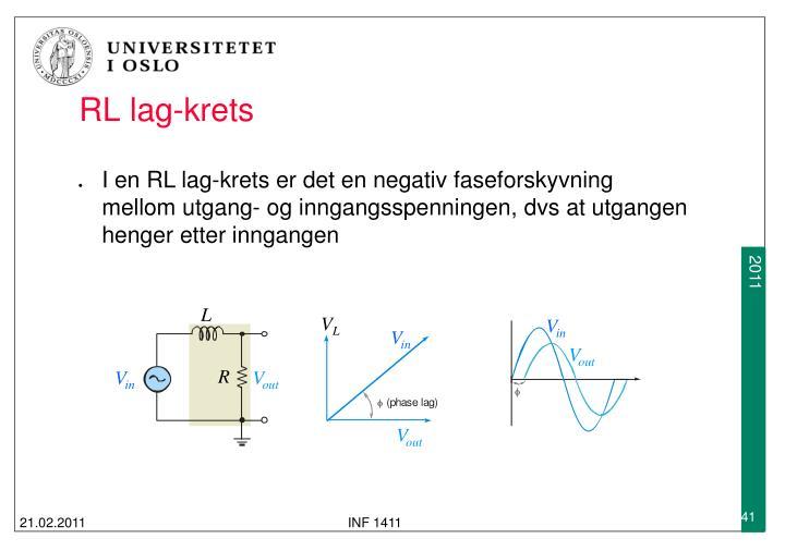 RL lag-krets