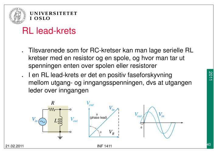 RL lead-krets