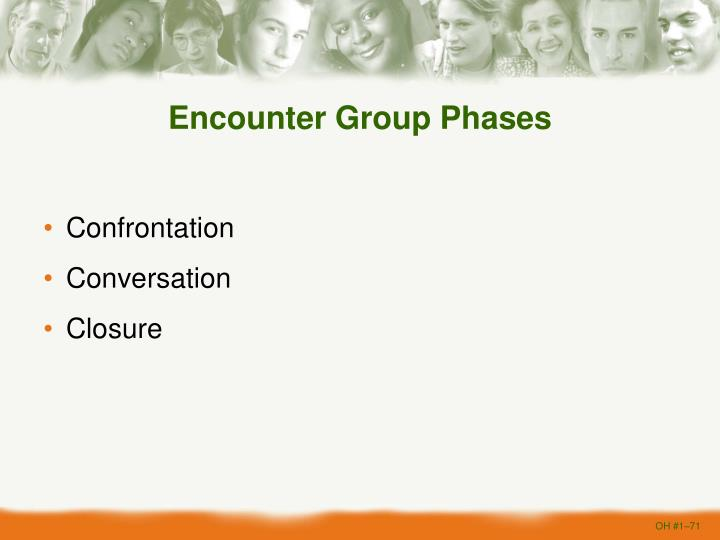 Encounter Group Phases