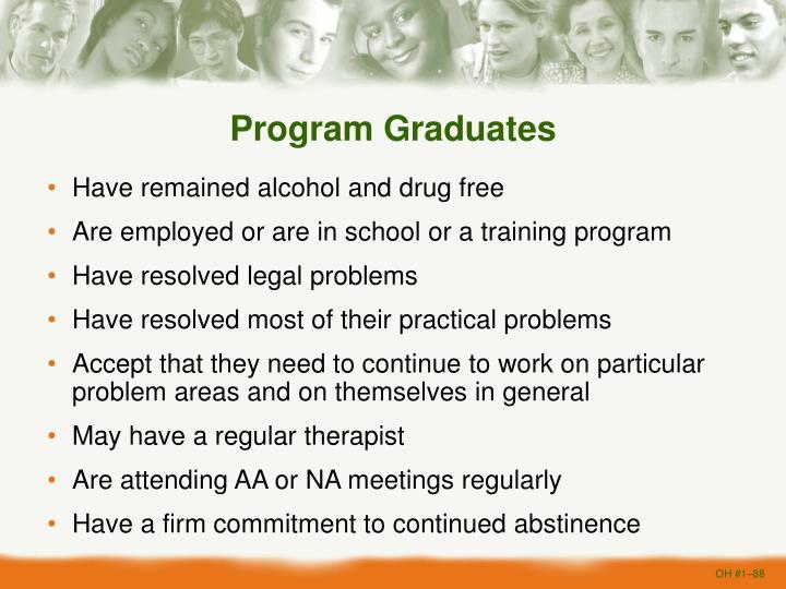 Program Graduates