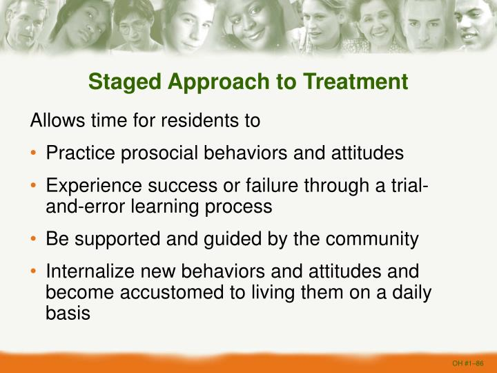 Staged Approach to Treatment