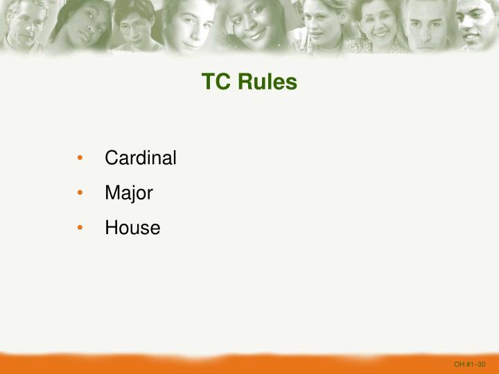 TC Rules