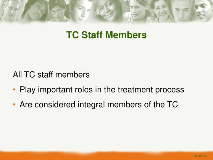 TC Staff Members