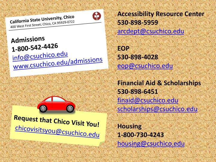 Accessibility Resource Center