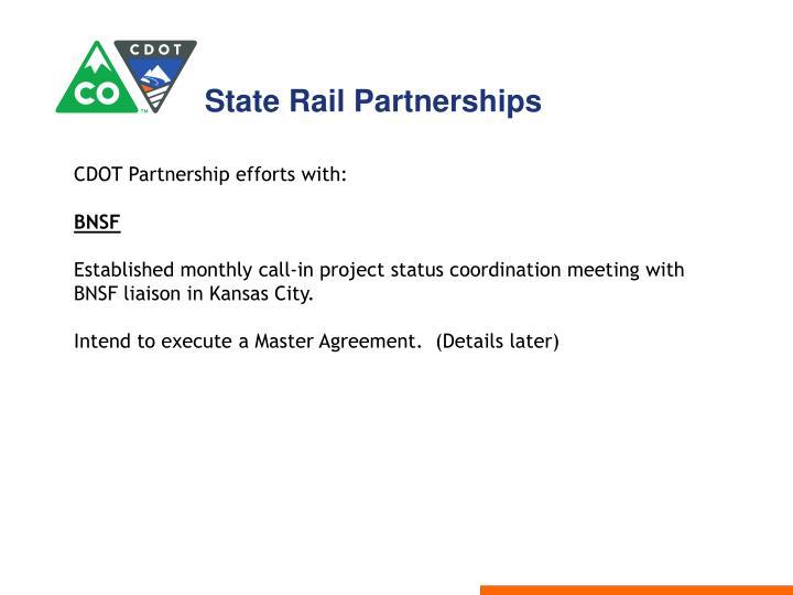 State Rail Partnerships