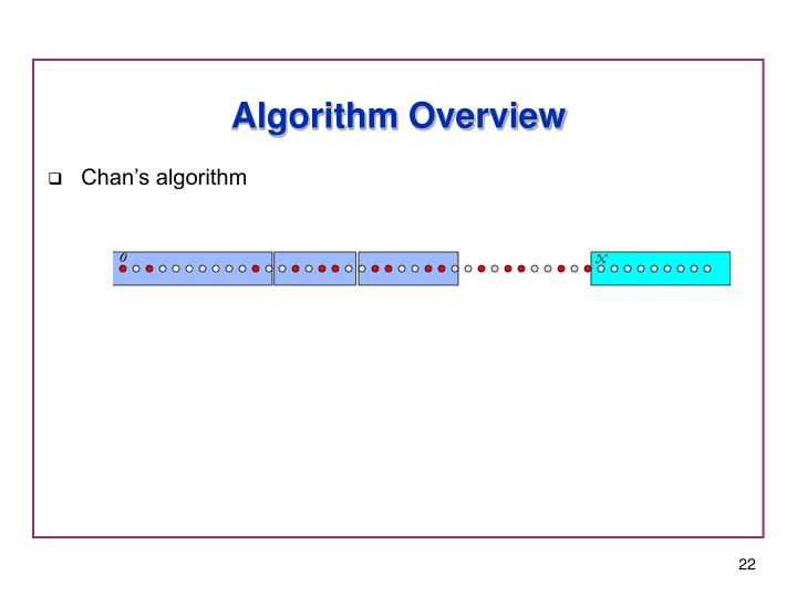 Algorithm Overview