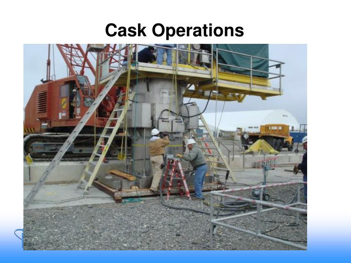 Cask Operations