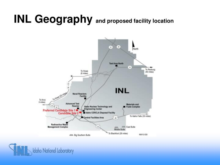 INL Geography