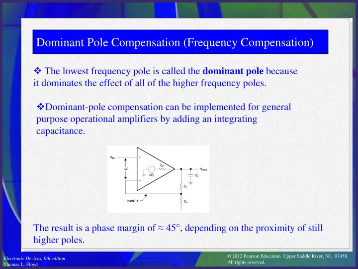 Dominant Pole Compensation (Frequency Compensation)