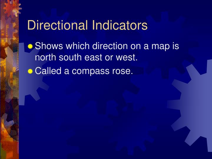 Directional Indicators