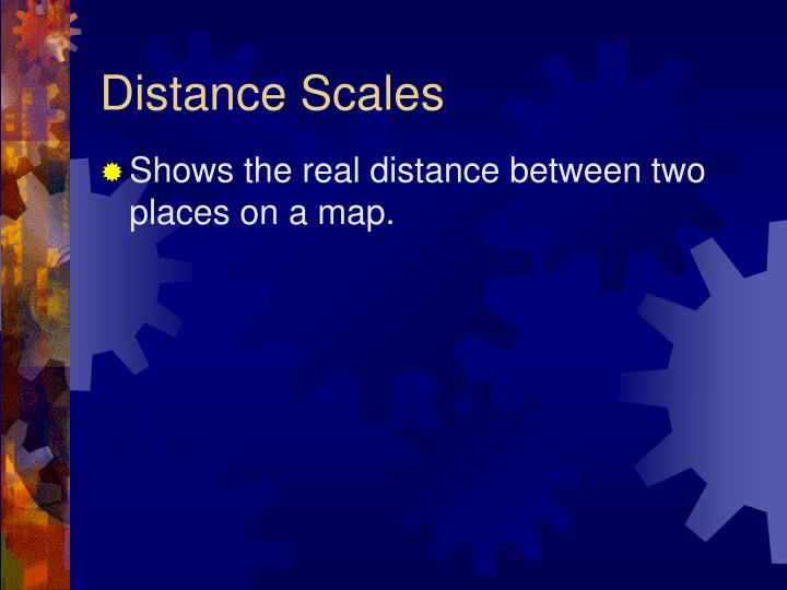 Distance Scales