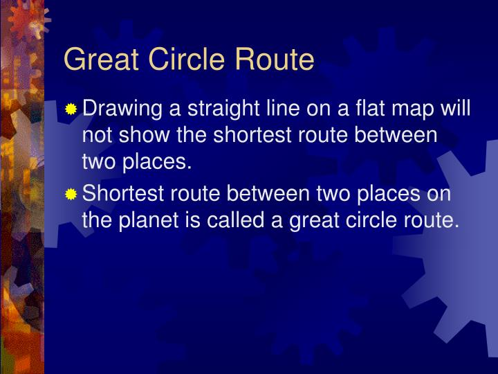 Great Circle Route