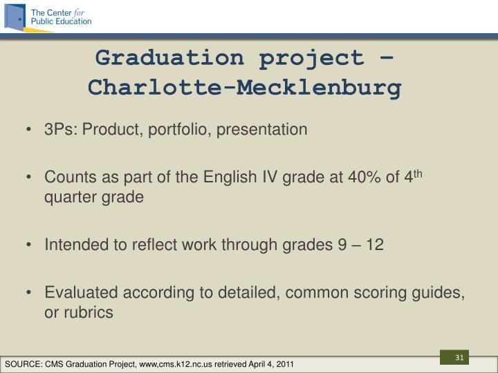 Graduation project –