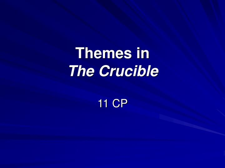 the crucible essay on tragic hero Category: miller crucible tragic hero title: the crucible's john proctor as a tragic hero.