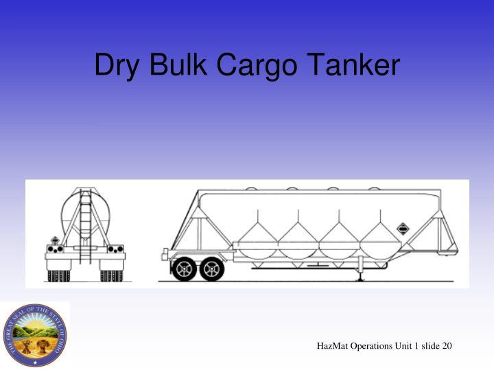 Dry Bulk Cargo Tanker