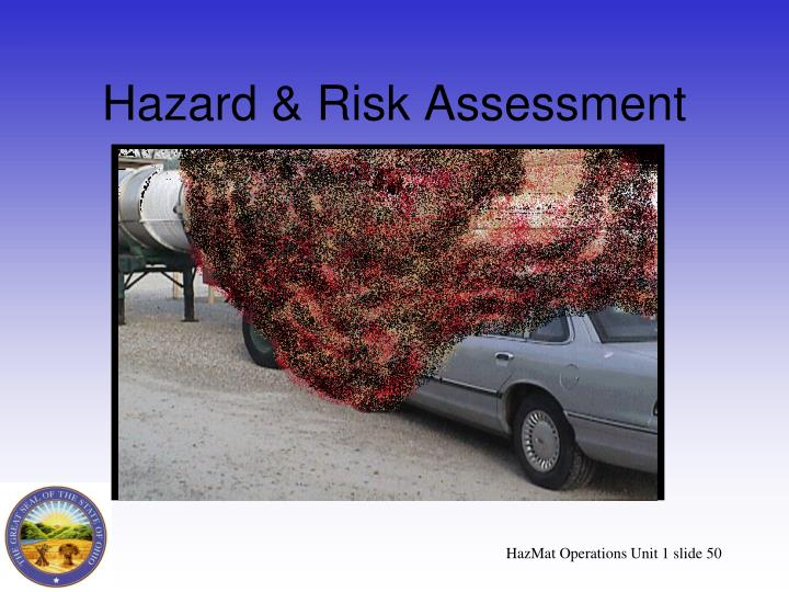 Hazard & Risk Assessment