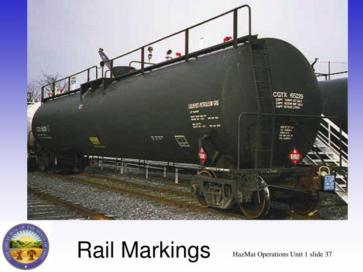 Rail Markings