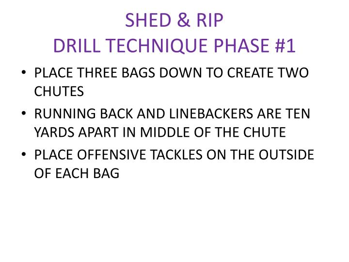 SHED & RIP