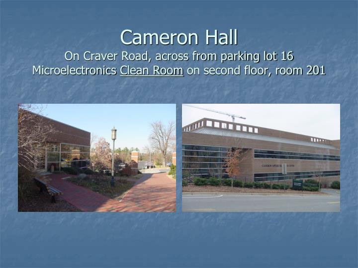Cameron Hall