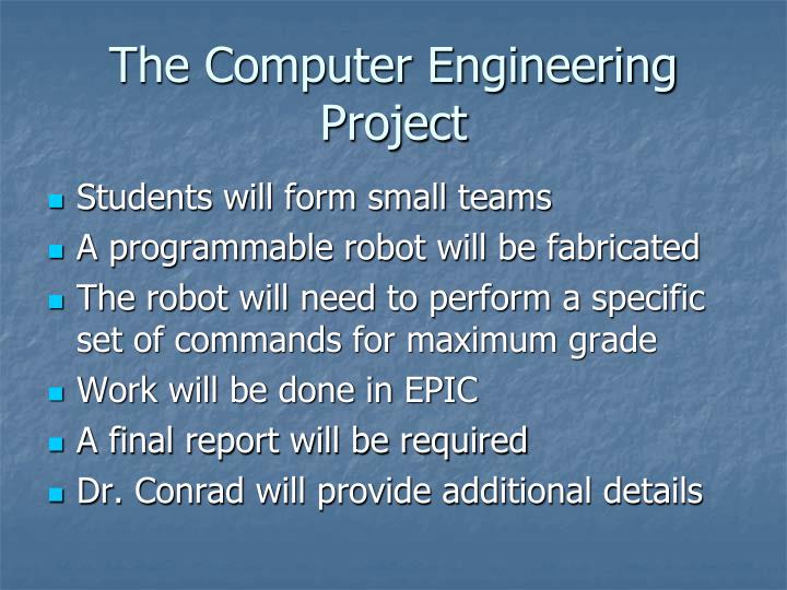 The Computer Engineering Project