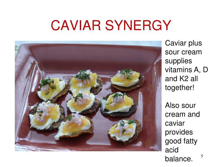 CAVIAR SYNERGY