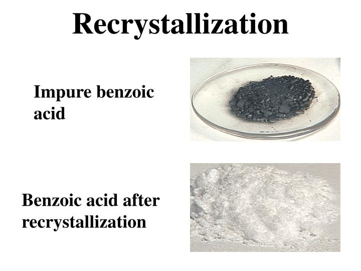 Crystalization lab report