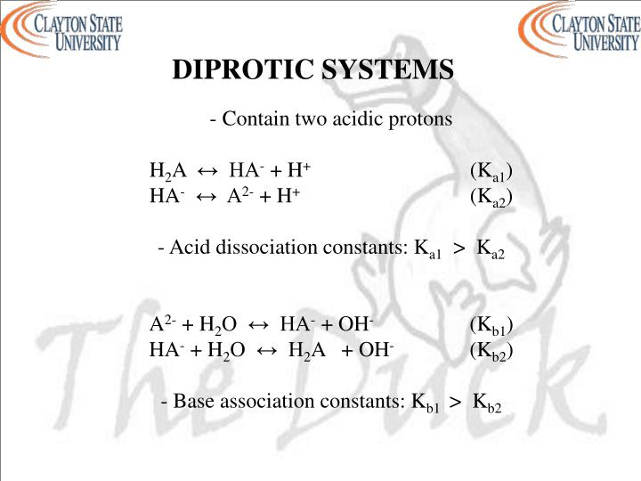 DIPROTIC SYSTEMS