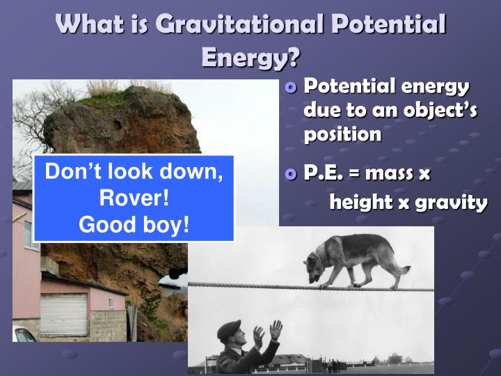 What is Gravitational Potential Energy?