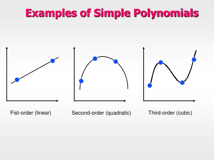 Examples of Simple Polynomials