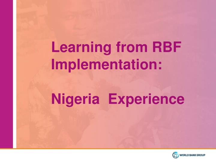 Learning from RBF Implementation: