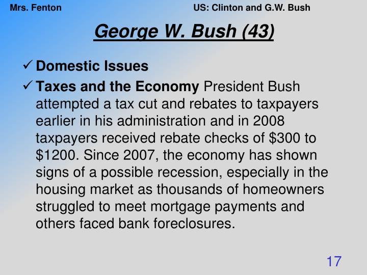 George W. Bush (43)
