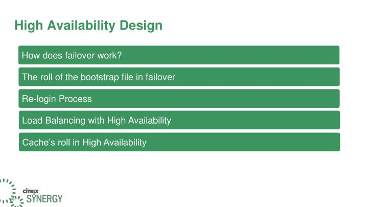High Availability Design