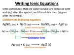 writing ionic equations3
