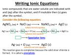 writing ionic equations4