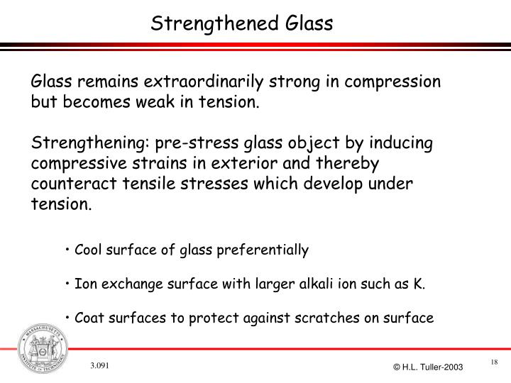 Strengthened Glass