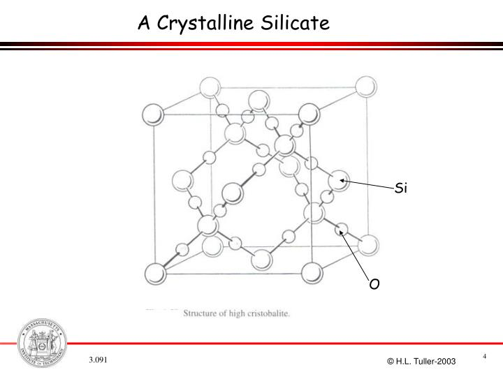 A Crystalline Silicate