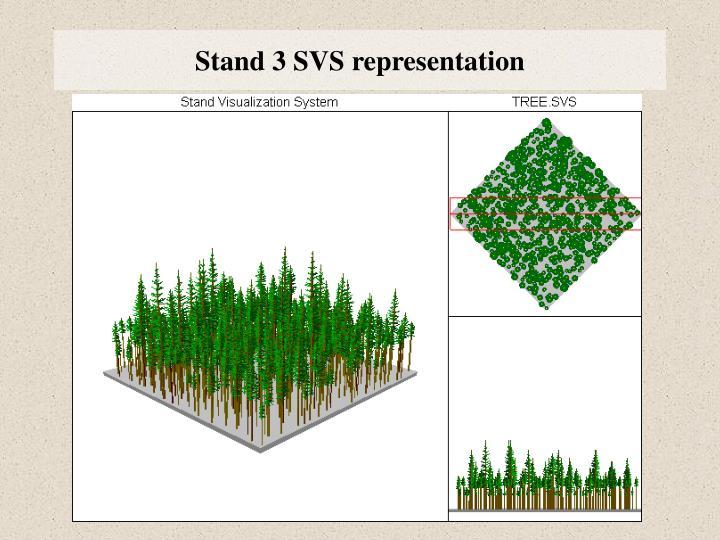 Stand 3 SVS representation