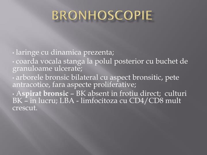 Bronhoscopie