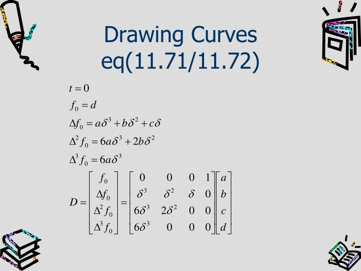 Drawing Curves