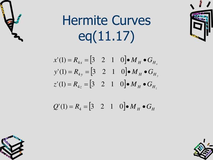 Hermite Curves