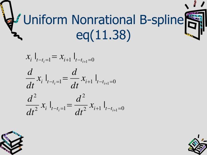 Uniform Nonrational B-spline
