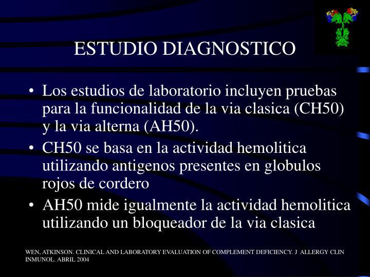 ESTUDIO DIAGNOSTICO