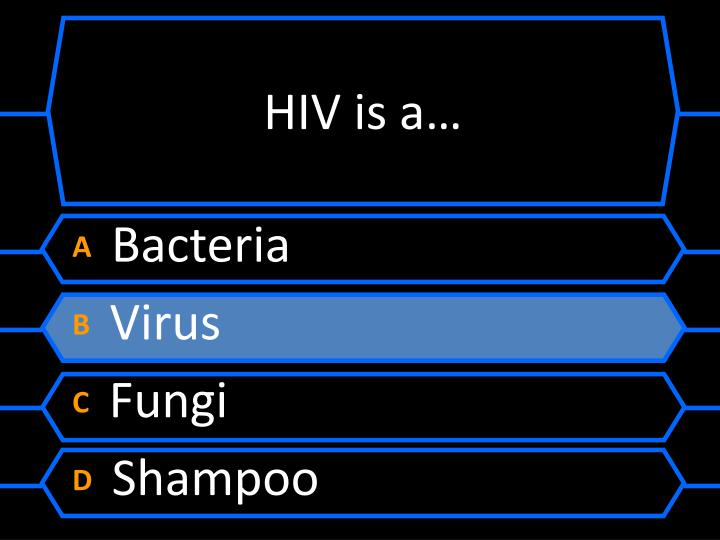 HIV is a…