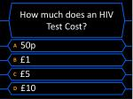 how much does an hiv test cost