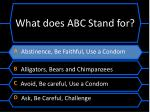 what does abc stand for1