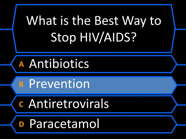 What is the Best Way to Stop HIV/AIDS?